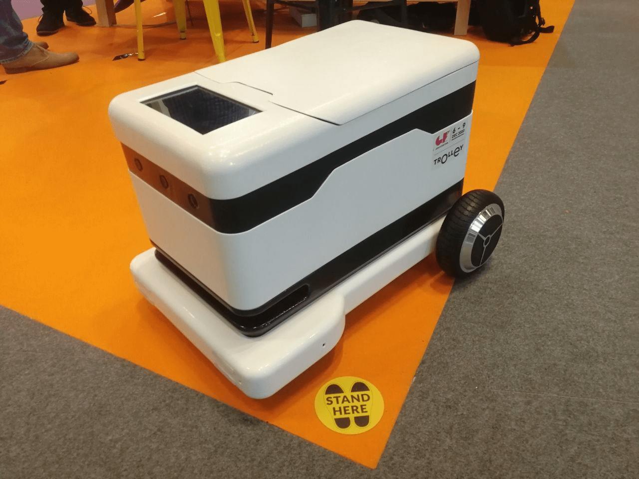 Международная hi-tech выставка Gitex — 2020: робот-доставщик и очки дополненной реальности